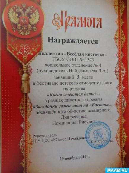 Номинации фестиваля